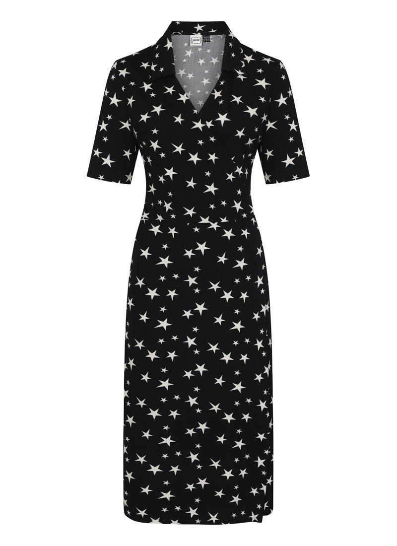 Vonnie Star Print Wrap Dress product front
