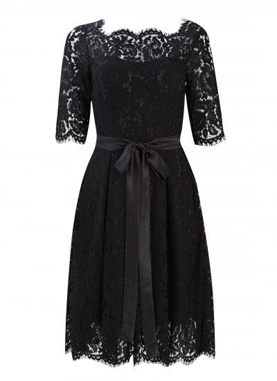 Audrina Black Lace dress