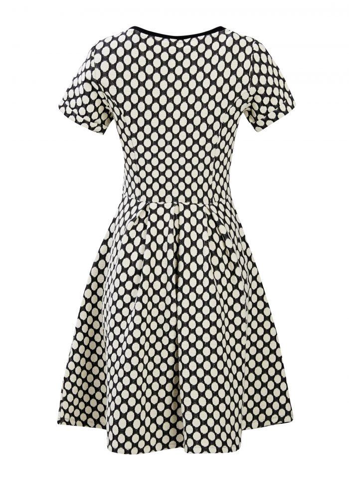 Cece Stretch Dress – Polka Dot