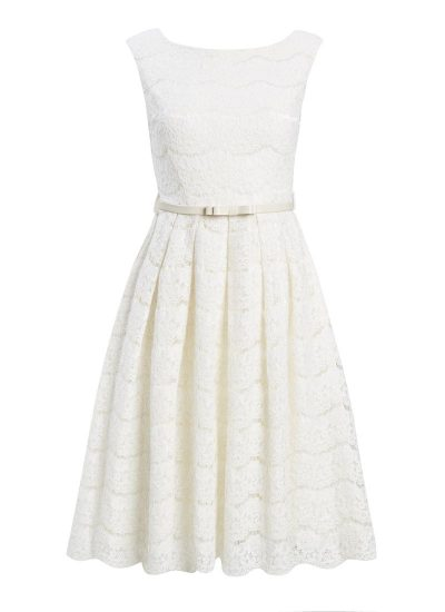 Annie Cream Lace Dress