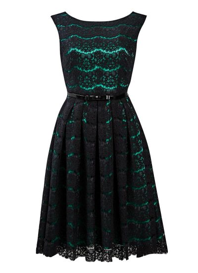 Annie Black Lace Dress