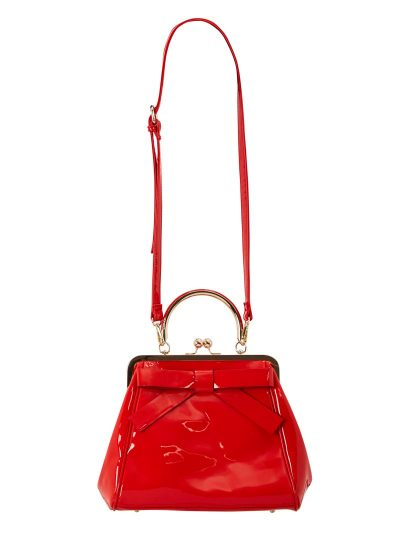 Patent Red Bag