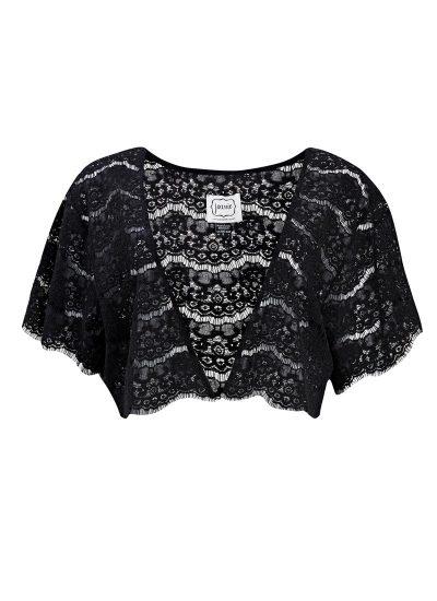 Black Lace Shrug