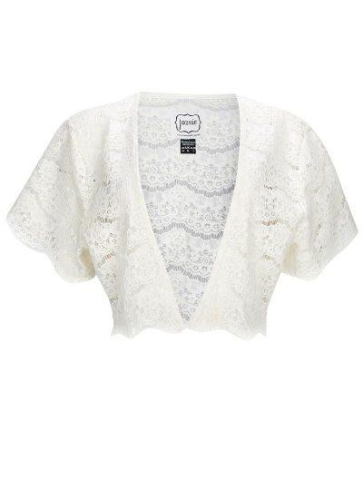 Cream Lace Shrug