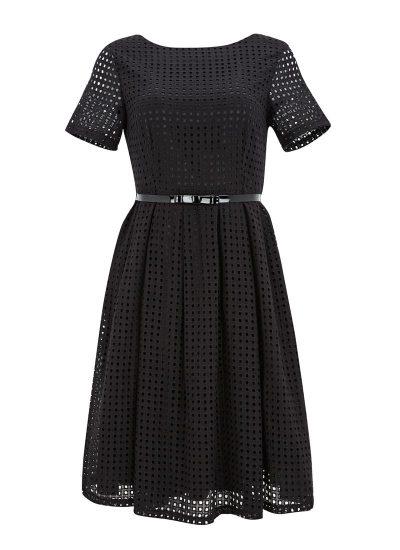 Black Cut-out Detail Dress