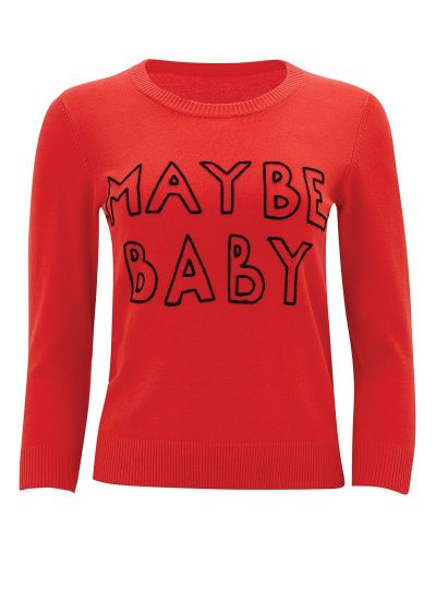 Maybe Baby Red Jumper