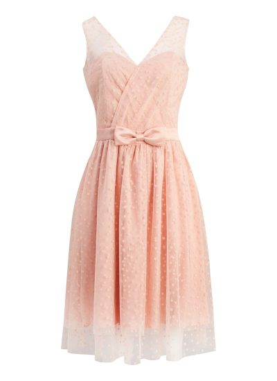 Tulle Occasion Dress in Pink