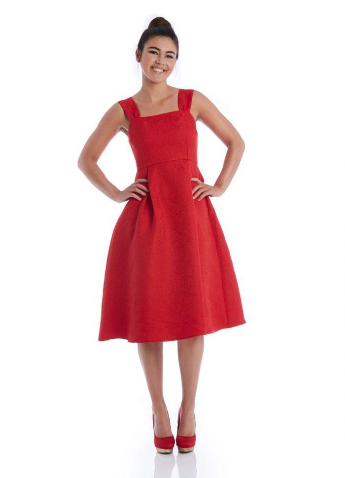 Dita Jacquard Dress