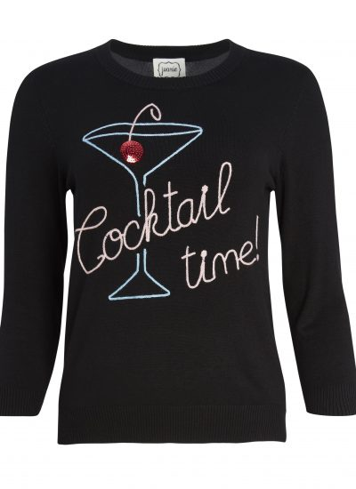 Cocktail Slogan Jumper