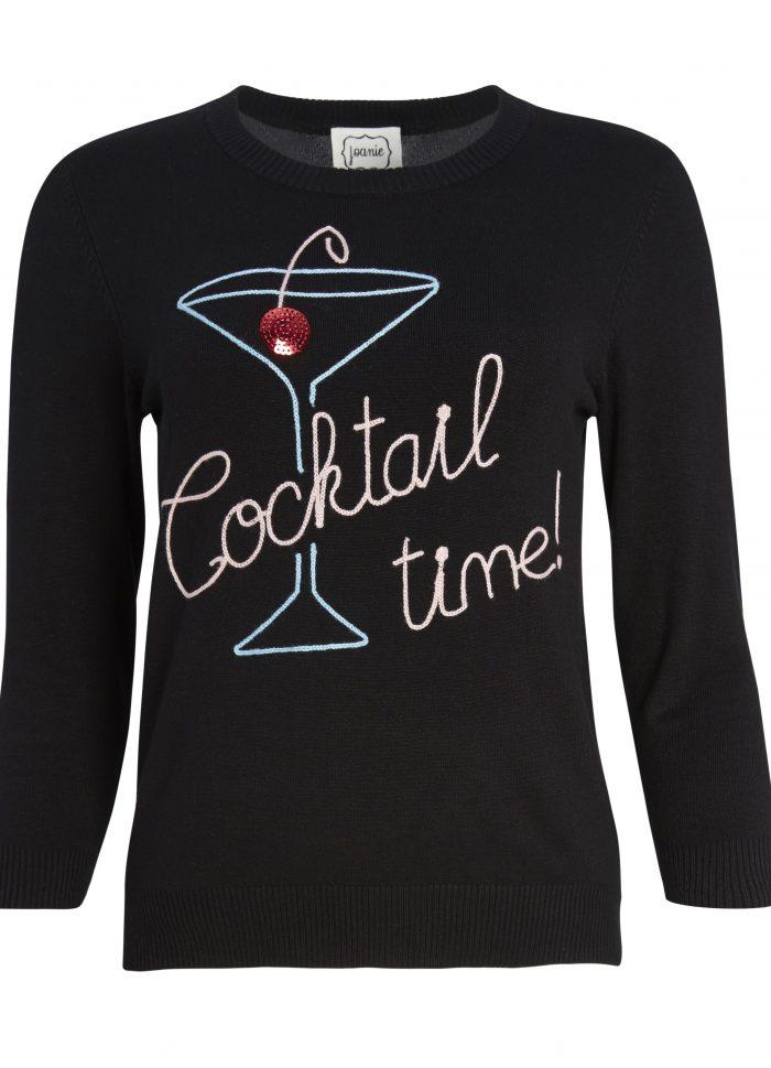 Happy Hour Cocktail Slogan Jumper