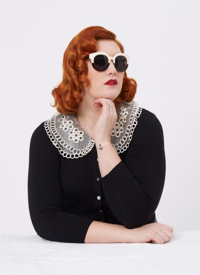 60s-inspired Two Tone Sunglasses