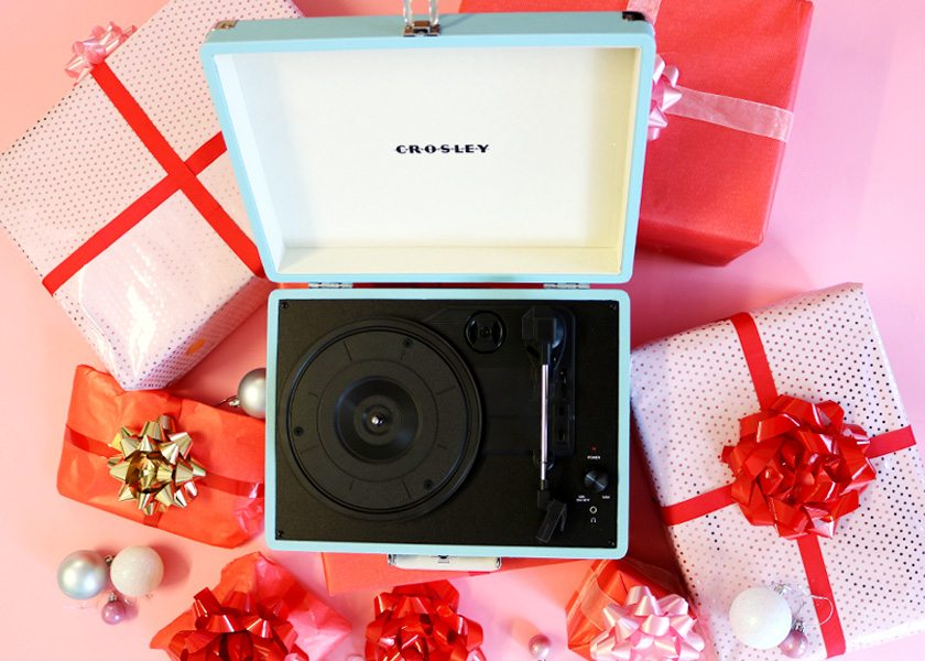 WIN A Crosley Record Player Plus £50 to Spend with Joanie!
