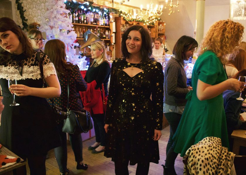 Joanie Christmas Blogger Party