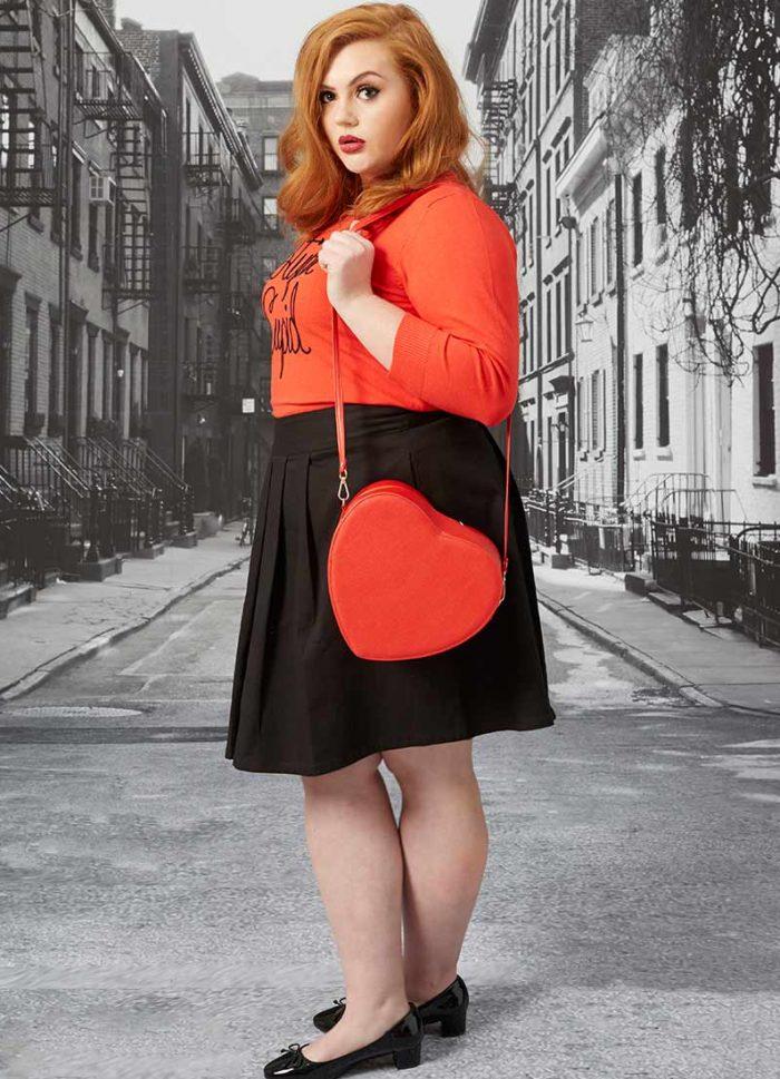 Lovey Heart Shaped Bag