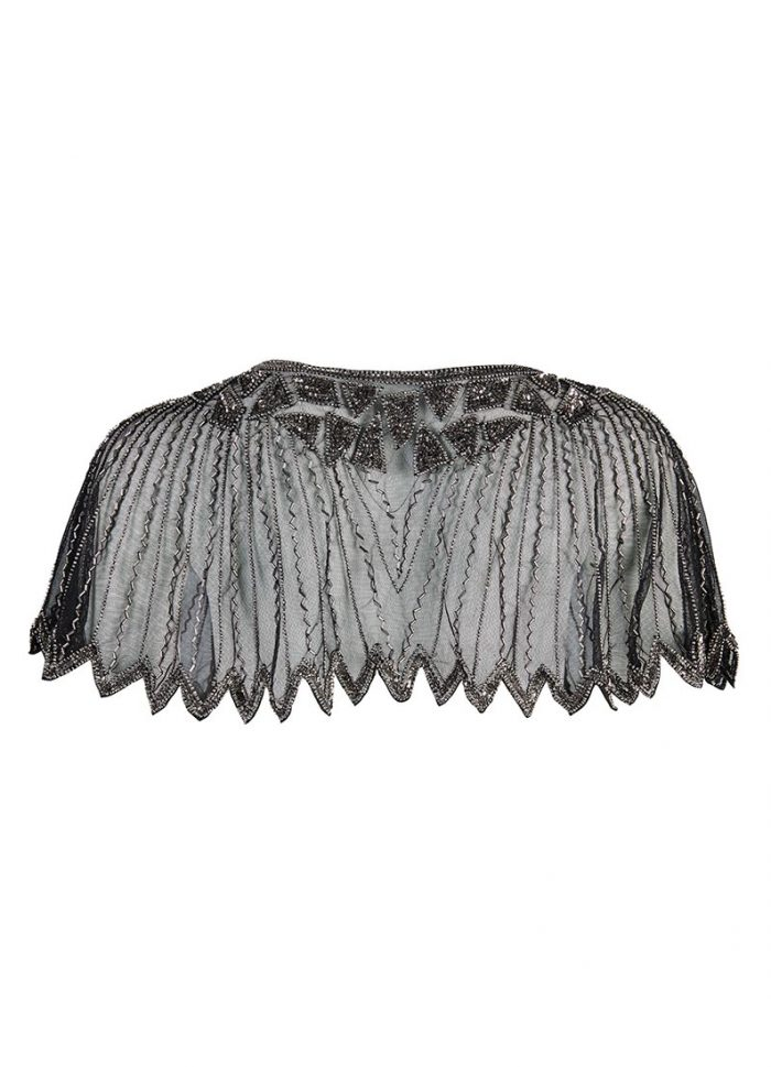 Cody Occasion Embellished Capelet