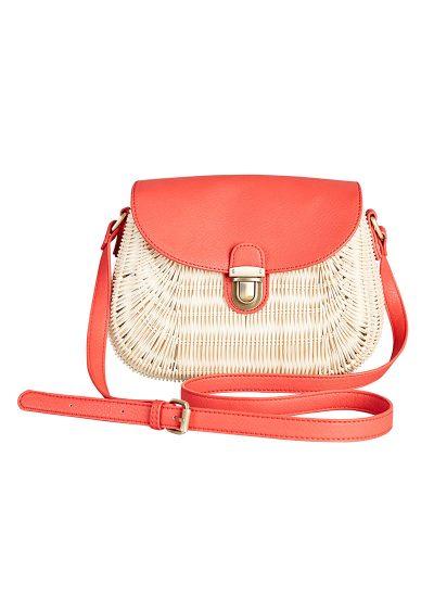 Rattan Basket Shoulder Bag