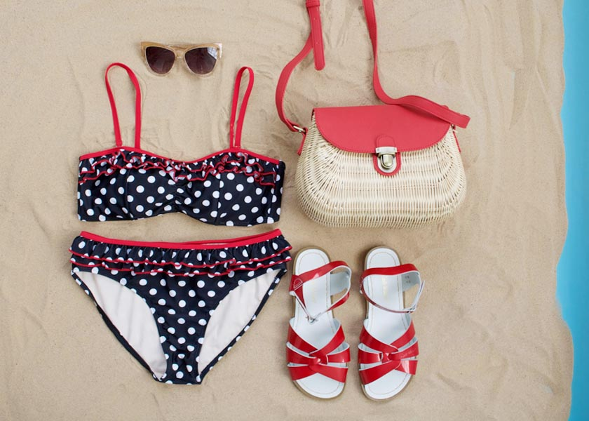 WIN your beach bundle- Joanie x Salt-Water Sandals!