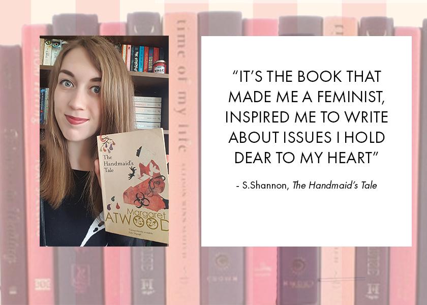 Joanie's Open Book-Club X The Handmaid's Tale