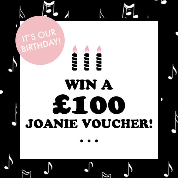 Joanie's 3rd Birthday £100 Giveaway!