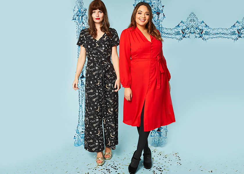 Joanie Clothing Jerry Jumpsuit and Babs Red Dress - Black Friday Sale