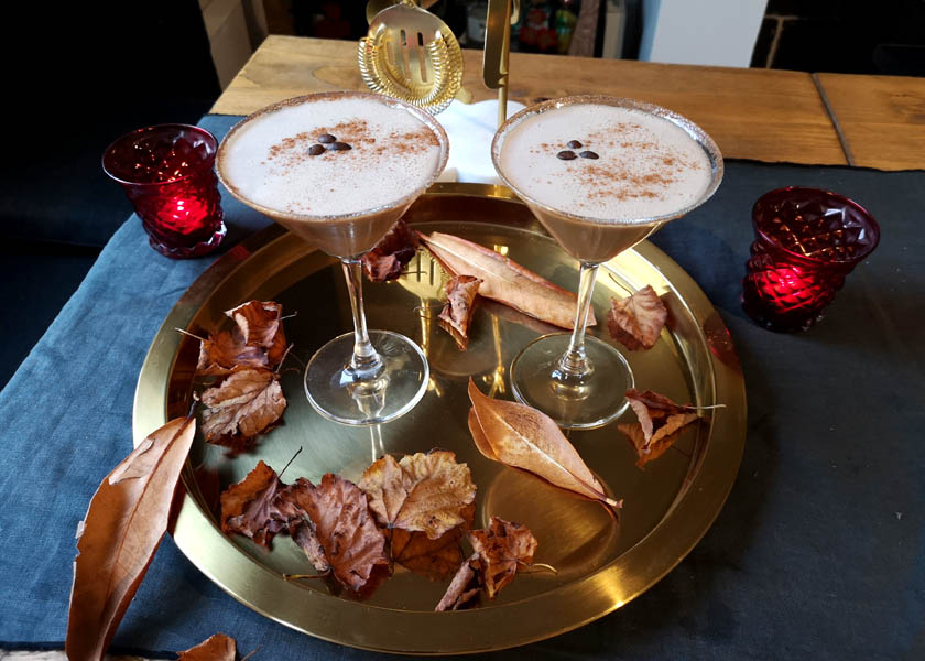 Cocktail Recipe: How to Make a Pumpkin Spice Latte Martini
