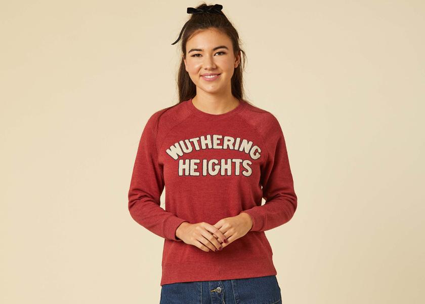 Joanie Clothing Wuthering Heights Heathcliff Sweatshirt