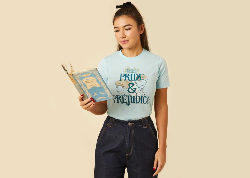 Joanie Clothing Pride & Prejudice Pemberley Tee