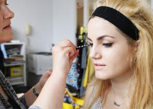 joanie clothing bts model makeup