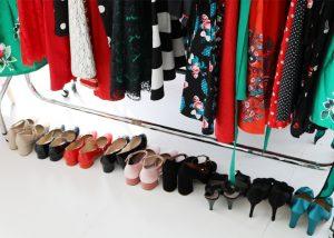 joanie clothing bts photoshoot shoes