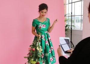 joanie clothing floral dress bts