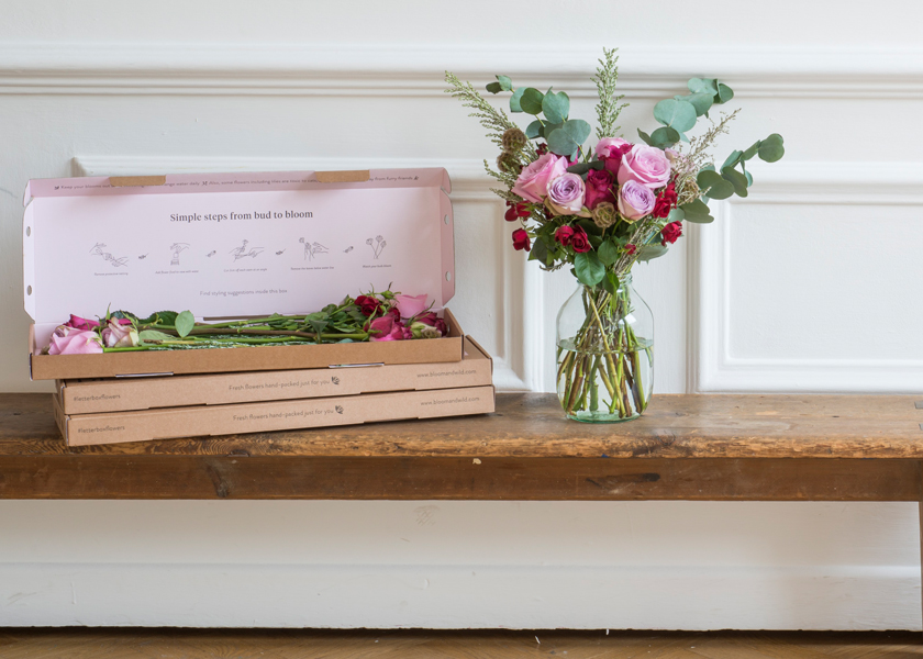 Win three months of flowers from Bloom & Wild!