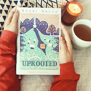 Joanie's Open Book-Club X Uprooted