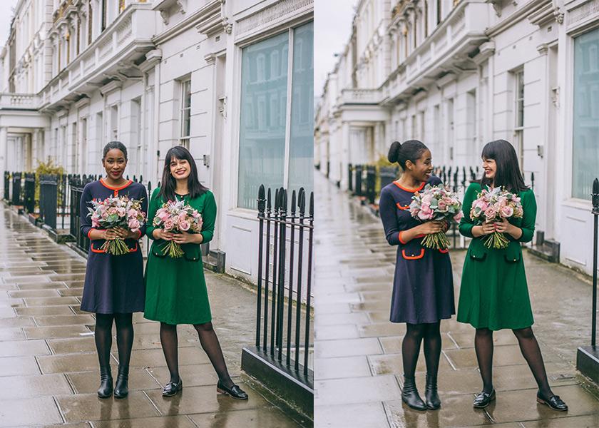 Bloggers wear Joanie in London