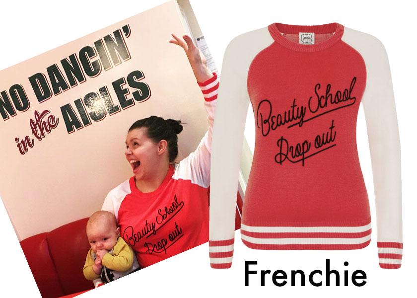 Blogger Style LadyBaby Mum wearing Frenchie