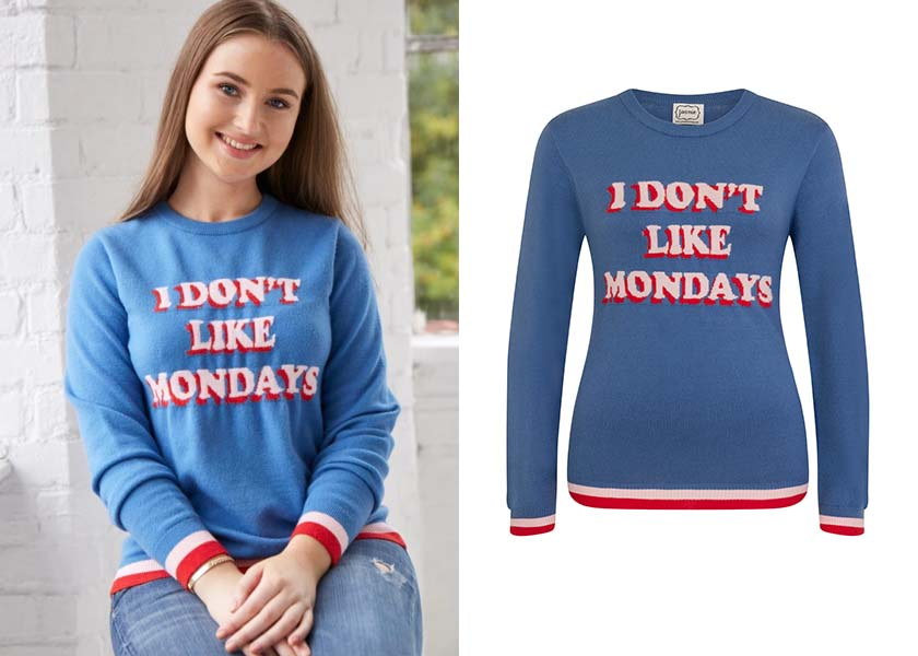 I Don't Like Mondays jumper