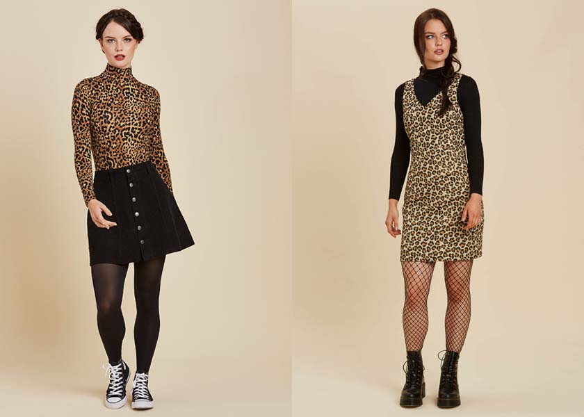 Joanie Leopard Print