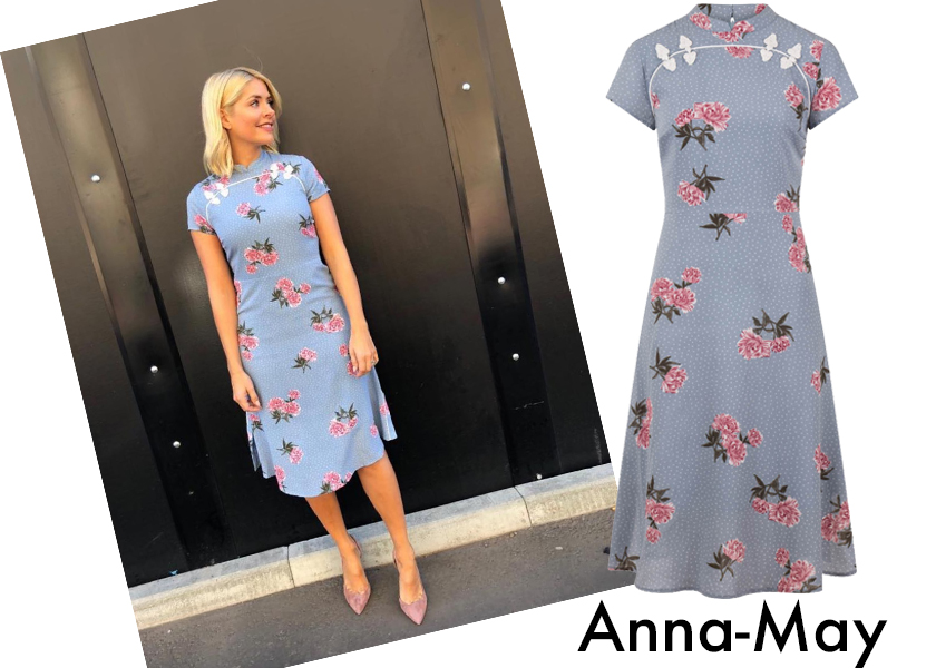 Holly Willoughby Style, wearing Anna-May