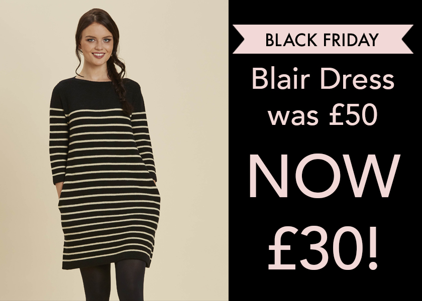 Blair Jumper Dress Reduced Black Friday