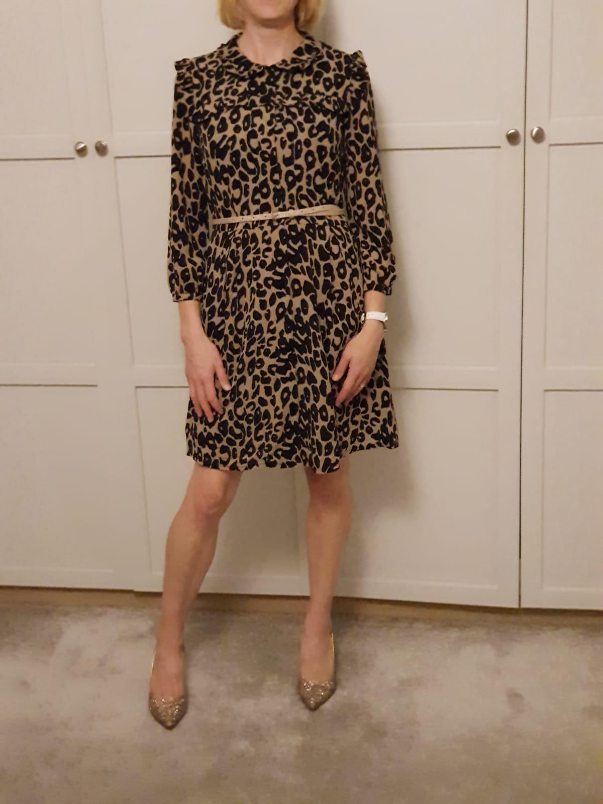 CIBII Corey Leopard Dress