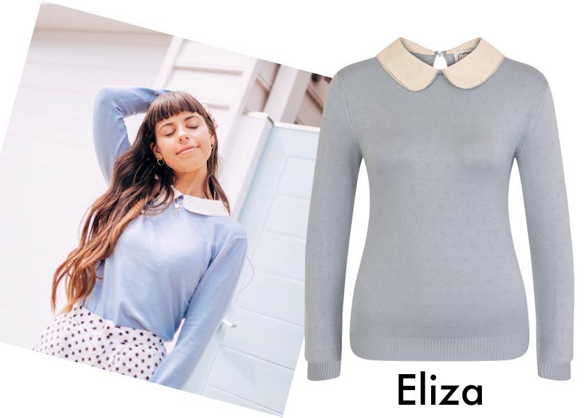 Blogger She The Style, wearing Joanie's Eliza Jumper