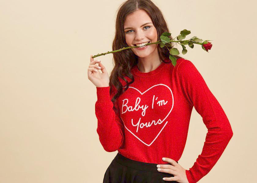 Valentine's Day Slogan Jumpers