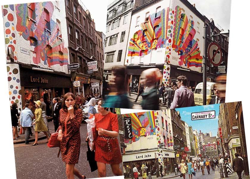 Swinging 60s London