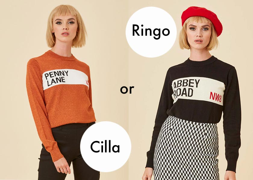 Joanie Clothing Cilla or Ringo Jumper