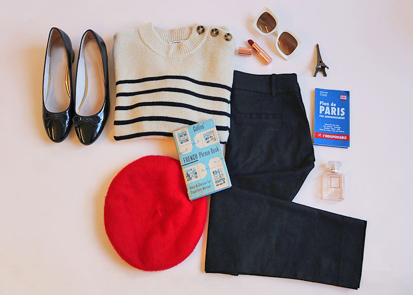 French Girl Style Starter Kit Flat Lay