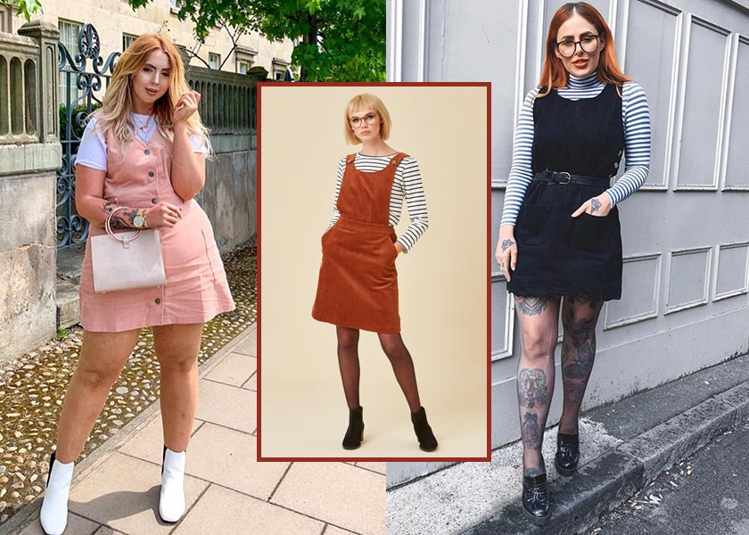 How to Style a Pinafore Dress for Autumn