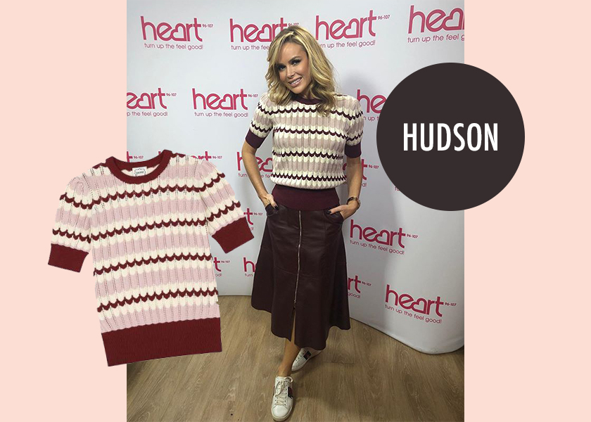 Amanda Holden Fashion Style