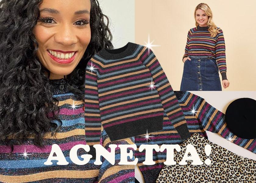 Joanie Clothing Agnetta Jumper